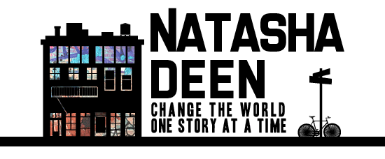 natasha deen author - change the world one story at a time