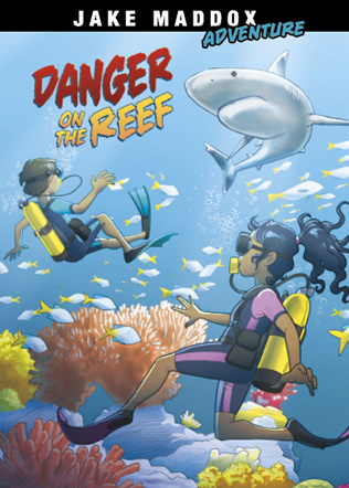 Danger On the Reef by Natasha Deen