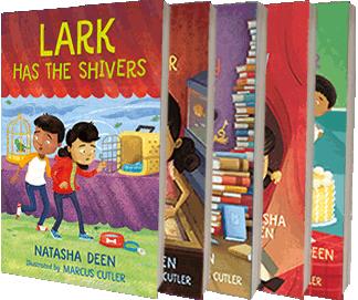 Lark & Connor series by Natasha Deen